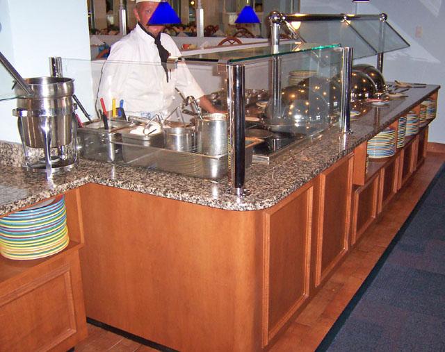 Tsn Manufacturing Custom Commercial Counters Kiosks